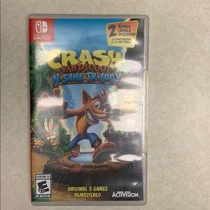 Nintendo's Switch Crash Bandicoot N-Sane Trilogy